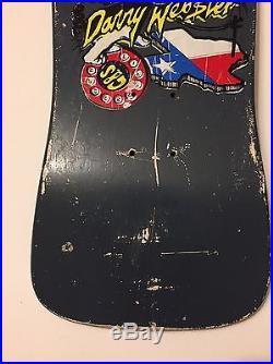 Vintage Gordon And Smith G&S Danny Webster Skateboard Deck NOS