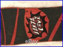 Vintage Jason Jesse OG Neptune Skateboard Deck Santa Cruz Powell Peralta Grosso