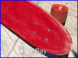 Vintage Jay Adams Z-Flex Skateboard Early Molded Grip Tracker Tunnel Rock Z-Boyz