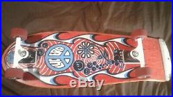 Vintage John Lucero STREET THING Complete Skateboard with Toxic Top Secrets & NMB