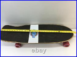Vintage Kryptonics Krypstik Skateboard 30 60mm Original Wheels USA
