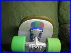 Vintage Kryptonics foam skateboard with Lazer trucks, 4, 65 mm Kryptonics wheels