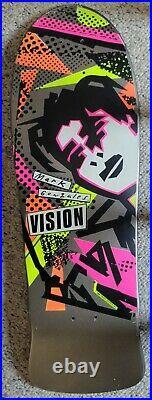 Vintage Mark Gonzales Vision face OG Skateboard deck NOS RARE