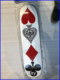 Vintage Mid 90s Skateboard Screenprinted Black Label Skip Pronier /Lucero