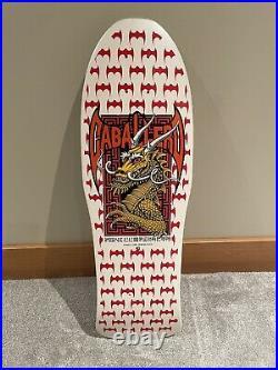 Vintage NOS 1987 OG Steve Caballero POWELL PERALTA Skateboard Deck Tony Hawk