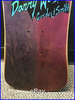 Vintage NOS G&S Danny Webster Car mini skateboard deck Santa Cruz Natas Powell