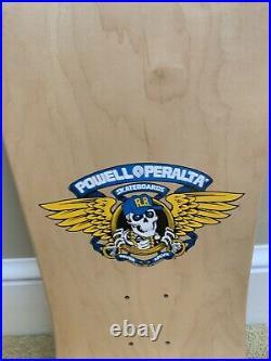 Vintage NOS Powell Peralta Barbee Ragdoll full skateboard deck natas santa cruz