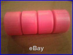 Vintage NOS Powell Peralta G-Bones 90A skateboard Wheels 64mm Pink