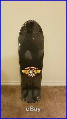 Vintage NOS Powell Peralta Lance Mountain doughboy 1 skateboard deck Black
