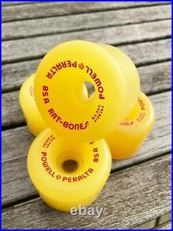 Vintage NOS Powell Peralta Rat Bones 85A Skateboard Wheels