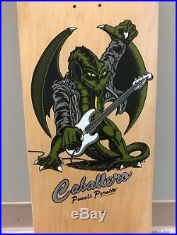 Vintage NOS Powell Peralta Steve Caballero Bass Guitar Dragon skateboard deck