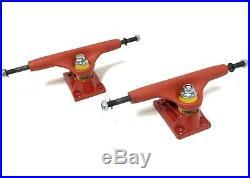 Vintage NOS Red Tracker Sixtrack Ultralight Skateboard Trucks NEW Powell Peralta