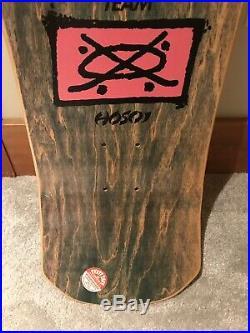 Vintage NOS SANTA CRUZ Hosoi Picasso Skateboard Deck Perfect Condition