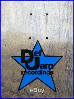 Vintage NOS Vision Beastie Boys Skateboard Rare Def Jam