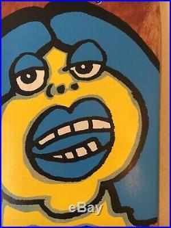 Vintage NOS Vision Mark Gonzales Fat Face Circa 1987