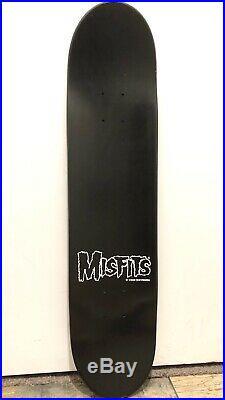 Vintage NOS Vision Misfits Skateboard 2002 Cuts Crypt Pushead Graves Danzig Era