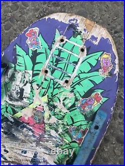 Vintage Natas Kaupas Panther Skateboard Deck Santa Monica Airlines Santa Cruz