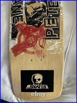 Vintage Nos 1988 Skull Skates Duane Peters skateboard