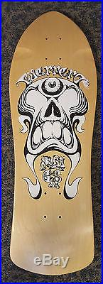 Vintage Nos Rare Prototype Early Og G&s Nicky Guerrero Cyclops Skateboard Deck