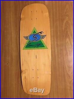 Vintage Nos Sims Lonnie Toft Snubnose Skateboard Dogtown G&s