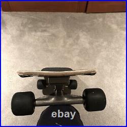 Vintage OG Monty Nolder Schmitt Stix skateboard with powell peralta mini cubic