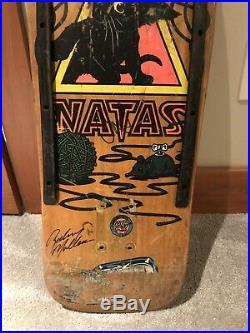 Vintage OG Natas Kaupas Kitten Skateboard Deck Rare Natty Version Santa Cruz SMA