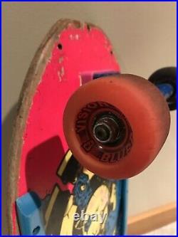 Vintage OG Rob Roskopp Target 3 Skateboard Complete With Tracker Trucks Santa Cruz