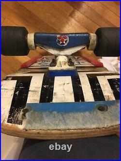 Vintage OG Vision Mark Rogowski Gator Skateboard Old Tracker Trucks Copers Sims