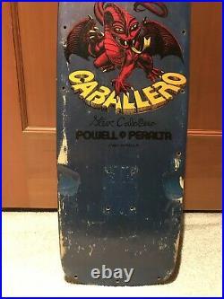 Vintage OG powell peralta steve caballero skateboard pig deck 1982-84 Tony Hawk