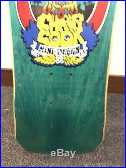 Vintage OG skateboard Deck Alva Chris Cook Nos condition Dog Town