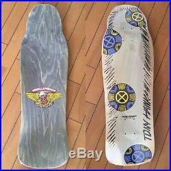 Vintage OG skateboard Powell Peralta Tony Hawk Medallion full size