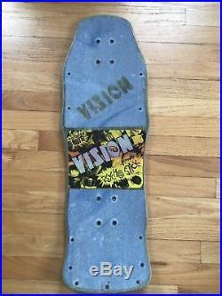 Vintage Old School Vision Psycho Stick skateboard deck