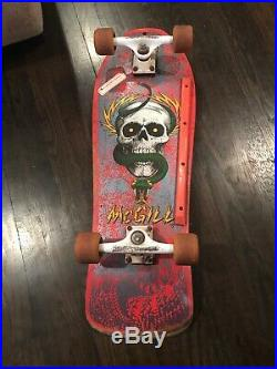 Vintage Original 1980s Powell Peralta Mike McGill SKULL SNAKE Rare Skateboard