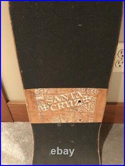 Vintage Original 1980s Santa Cruz Corey OBrien Deck Powell Peralta Rob Roskopp
