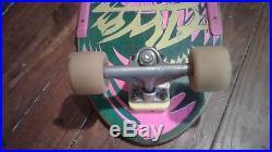 Vintage Original 1984 ALVA Street Fire Team Deck complete skateboard
