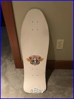 Vintage Original 1989 Powell Peralta Steve Caballero Ban This NOS Skateboard