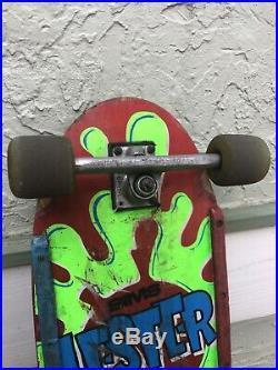 Vintage Original SIMS Lester Kasai Rare Skateboard Deck
