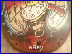 Vintage Original Santa Cruz Claus Grabke Skateboard Deck Red # 373