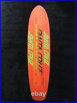 Vintage Original Santa Cruz Fibreglass Skateboard Alva Powell Hawk Vision