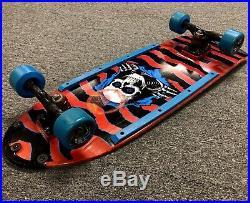 Vintage Powell Peralta 1984 Ripper Red Dip Pig Skateboard Gullwing NOS G-Bones