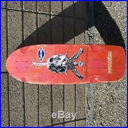 Vintage Powell Peralta Brite Lite Ray Bones Rodriguez deck skateboard