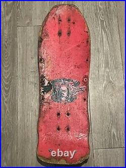 Vintage Powell Peralta GeeGah Ripper Skateboard Deck From The 80s