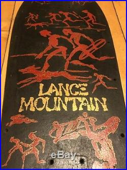 Vintage Powell Peralta Lance Mountain 80s Original Bonite Skateboard Deck