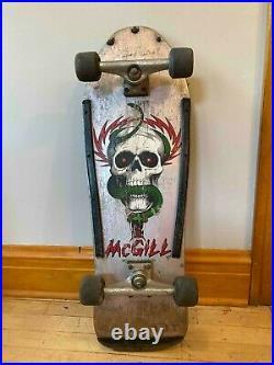 Vintage Powell Peralta Mcgill Skateboard 1988 Complete Oji II 97A Wheels
