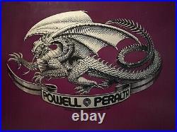 Vintage Powell Peralta Mike McGill Reissue 2005 NOS Purple Bones Brigade