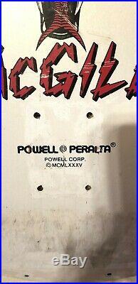 Vintage Powell Peralta Mike McGill Skateboard Deck not reissue, rare, original