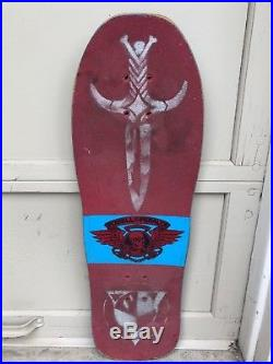 Vintage Powell Peralta Mike Vallely Elephant Skateboard Deck OG Very Rare 80s