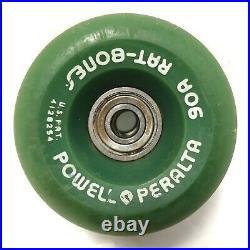 Vintage Powell Peralta Rat Bones Skateboard Wheels Mixed Set CLEAN Condition Rib