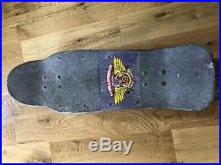 Vintage Powell Peralta Tony Hawk Medallion Skateboard