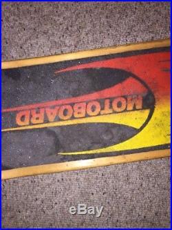 Vintage Rare 1970s Motoboard Gas Powered Skateboard WORKS & FAST! Great Shape